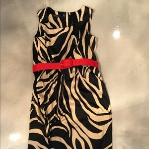 Black and Cream Alyx Dress